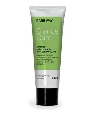 Shampoo Pré Coloração P/ Sobrancelhas Glance Rare Way