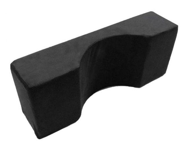 Travesseiro ergonômico para alongamento de cílios e micropigmentação - Veludo