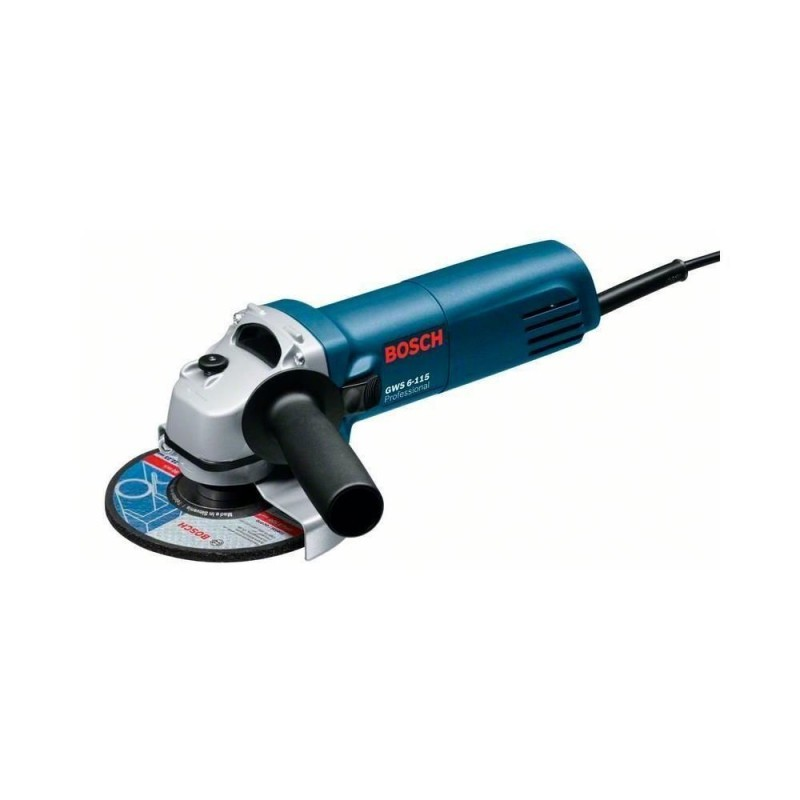 """Esmerilhadeira Angular 4-1/2"""" 220V 850 W GWS 8-115 Bosch"""