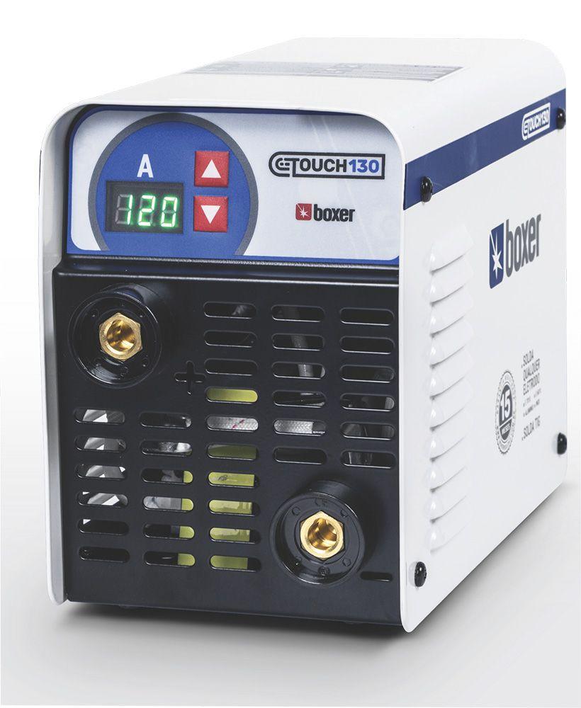 Máquina de Solda Inversora 130A 220V Touch 130 Boxer