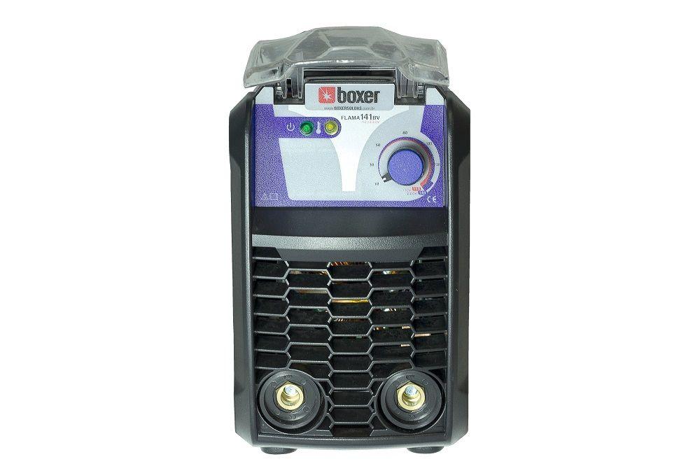 Máquina de Solda Inversora 140A Bivolt FLAMA 141BV Boxer