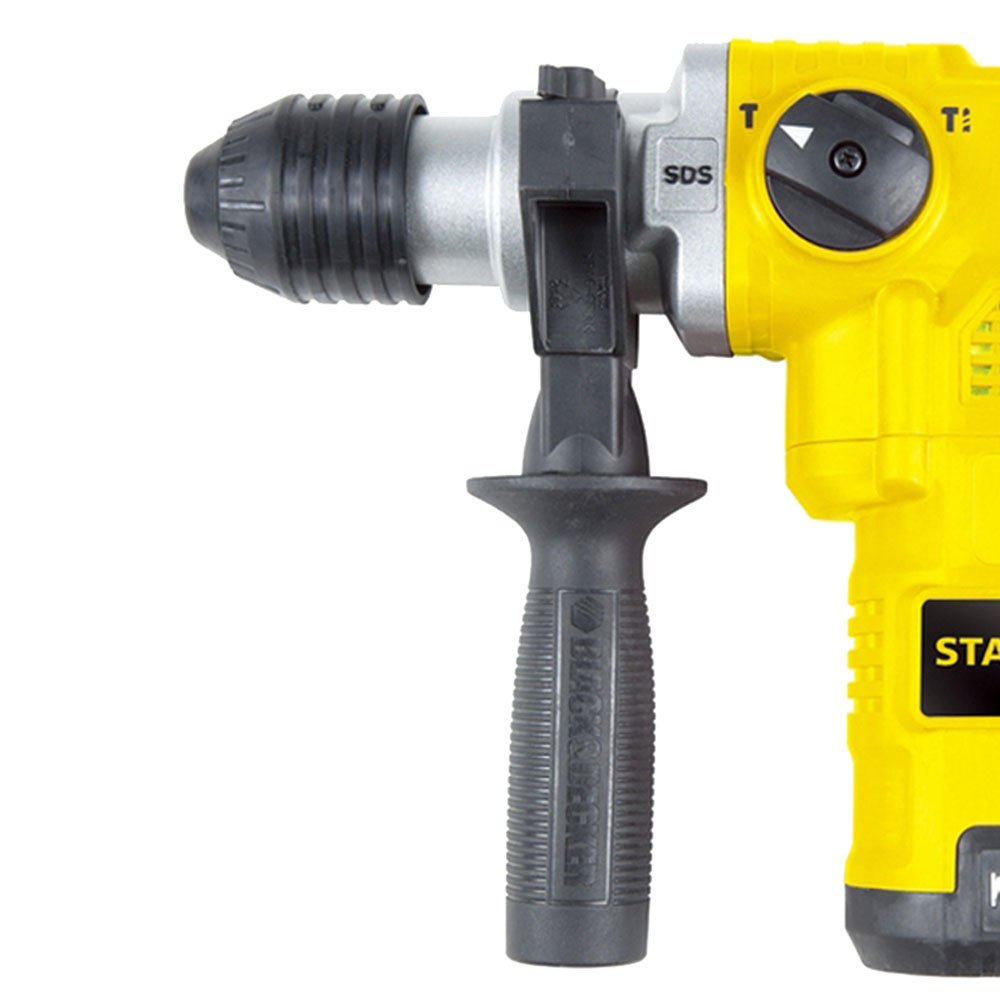 Martelete Perfurador Rompedor SDS Plus 3,5J 1250 Watts - Stanley