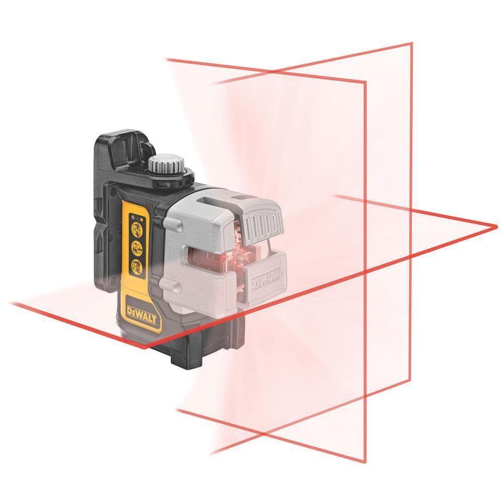 Nível a Laser de Planos com Projeção de Linhas de 90° - Dewalt
