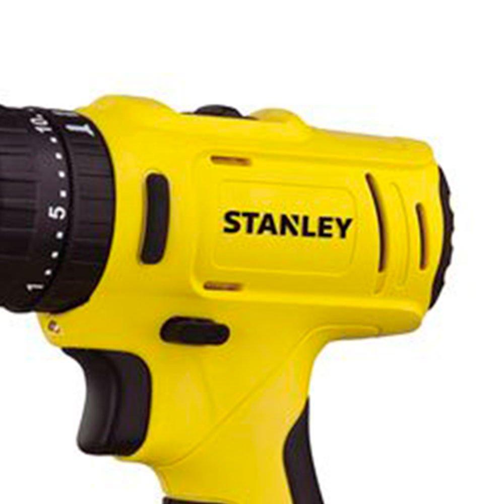 Parafusadeira e Furadeira de Impacto à Bateria Ion Litio 12V - Stanley
