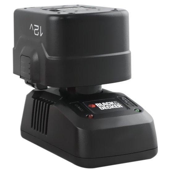 Parafusadeira e Furadeira Reversível 3/8 Polegadas à Bateria 12V - Black+Decker