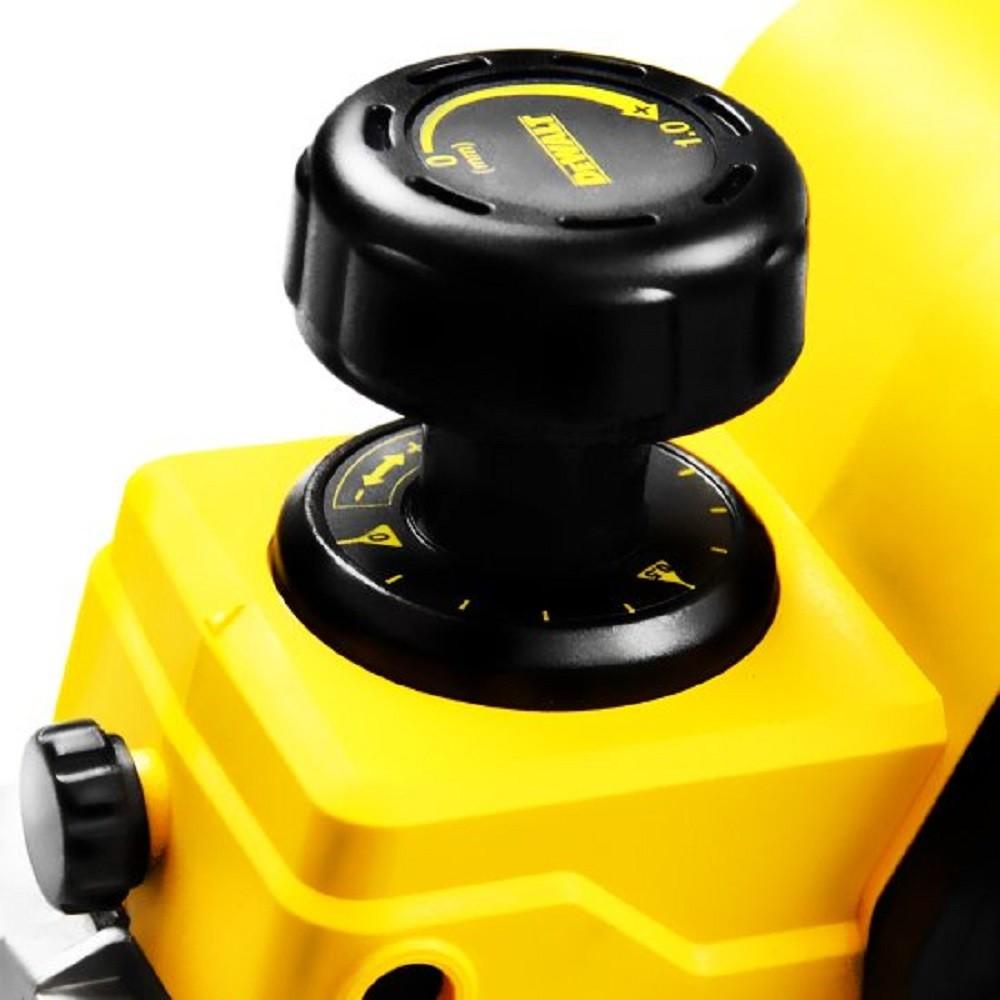 Plaina Elétrica 550 Watts Profundidade de 1mm - Dewalt