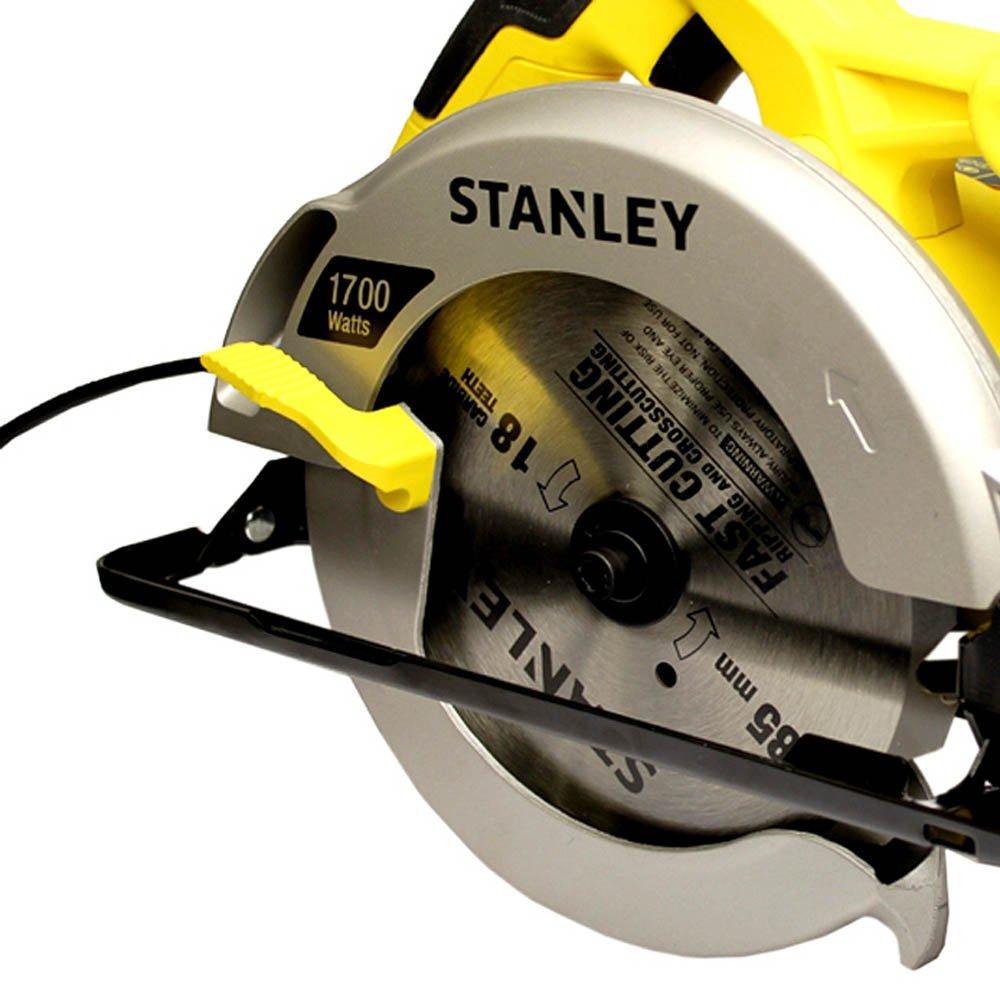 Serra Circular Elétrica de 7-1/4 Polegadas 1700 Watts - Stanley
