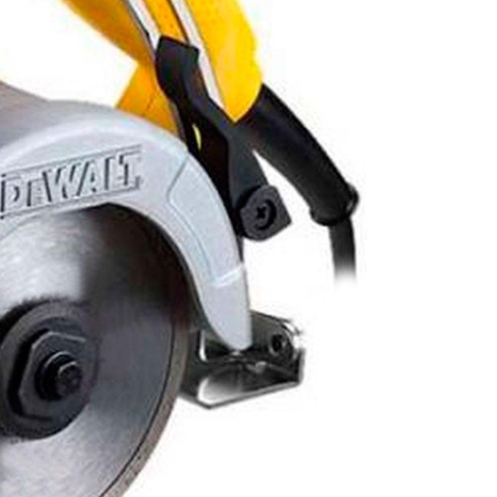 Serra Mármore de 4.3/8 Polegadas 1400 Watts - Dewalt com 3 discos
