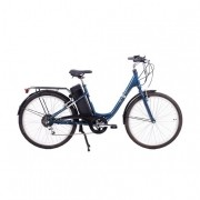 Bicicleta Elétrica Sense Start Azul Aro 26 24v 250w 12ah + Frete