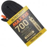 Câmara Bike Maxxis Ultralight 700x18/25c Válvula Presta 48mm