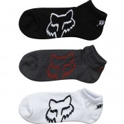 MEIA FOX CORE NO SHOW SOCK  - 3 PARES