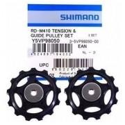 Par Roldana Polia Câmbio 8v Shimano RD-M410 Bike