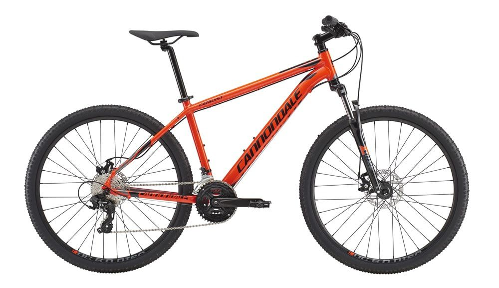 "BICICLETA MTB CANNONDALE CATALYST 3 2018 27,5""  24V T21"