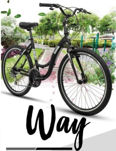 Bicicleta Rava Way Aro 26 - 21V - Rava