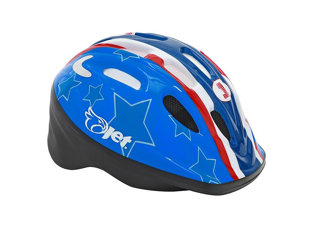 Capacete ciclismo infantil Jet Tomcat America cores