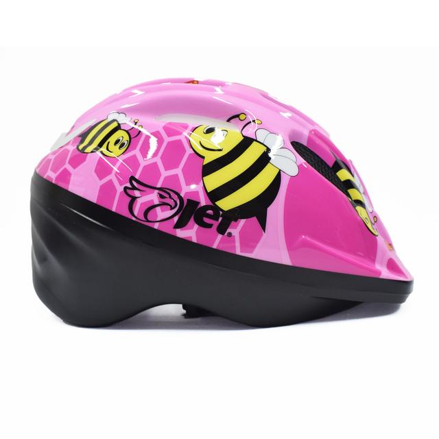 Capacete ciclismo infantil Jet Tomcat Bugs Rosa cores