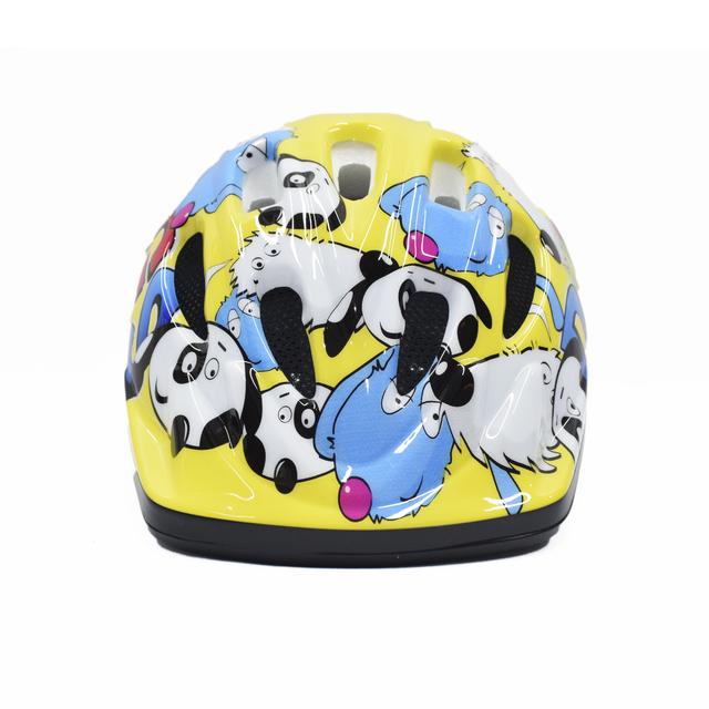 Capacete ciclismo infantil Jet Tomcat Doggy amarelo cores