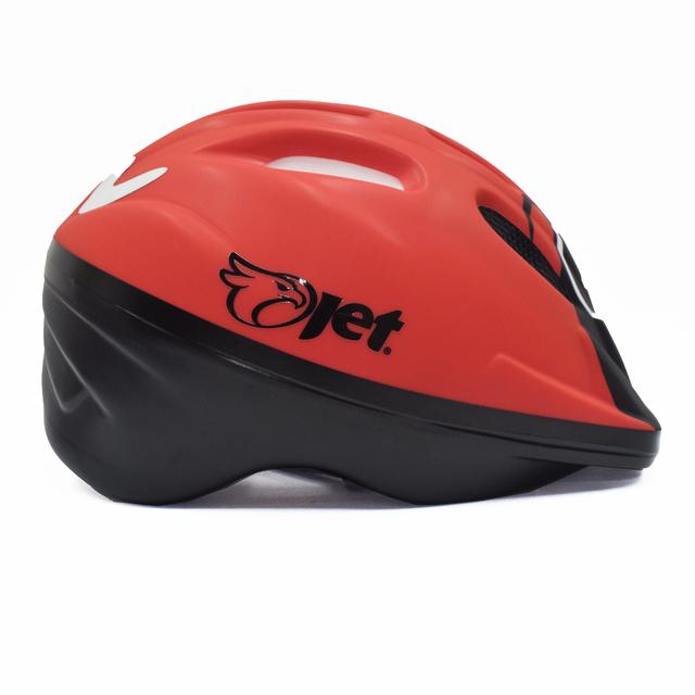 Capacete ciclismo infantil Jet Tomcat Ladybug cores