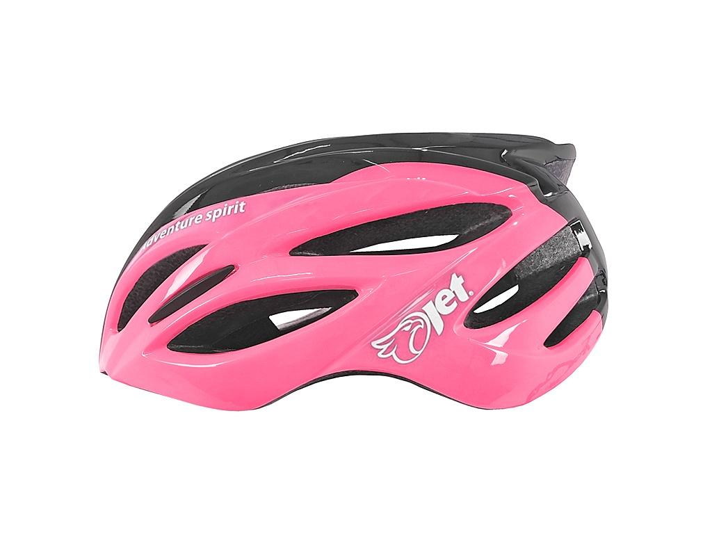 Capacete ciclismo Jet Hornet rosa mtb