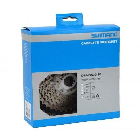 Cassete Shimano Deore CS-HG500 10 Vel 11-42T