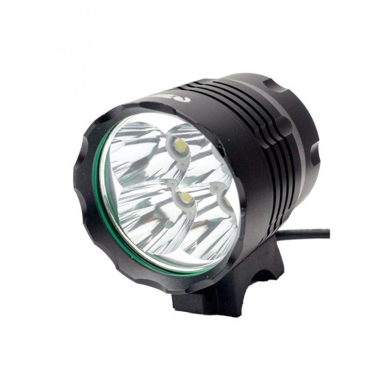 Lanterna Bike Bicicleta Sinalizador Traseiro Farol Led Luz Segurança TSW - 5600 Lumens Recarregável