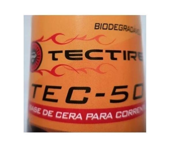 Óleo Lubrificante Bike - Tec 50 Bio Cera 120ml - 4 Unid