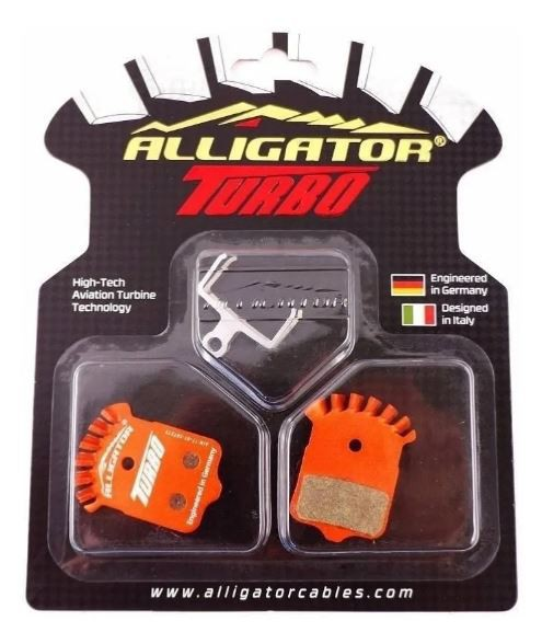 Pastilha De Freio Alligator Turbo Semi Metal P/ Avid Eli XO/XX