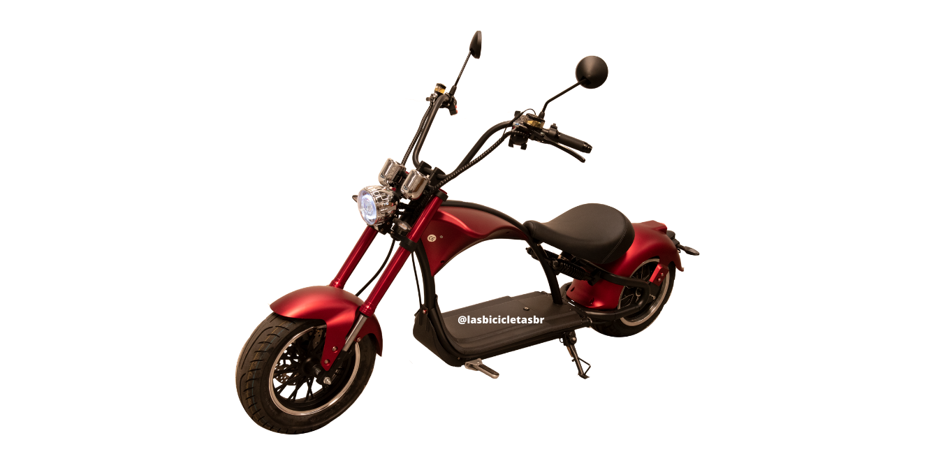 Scooter Patinete Eletrico Harley 3000w Bateria Litio+Capacete