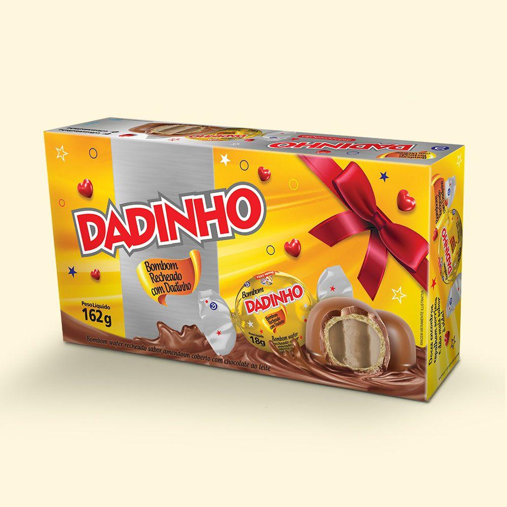 Caixa Bombom Dadinho - 162g