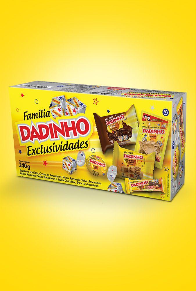 Caixa Família Dadinho Exclusividades - 240g