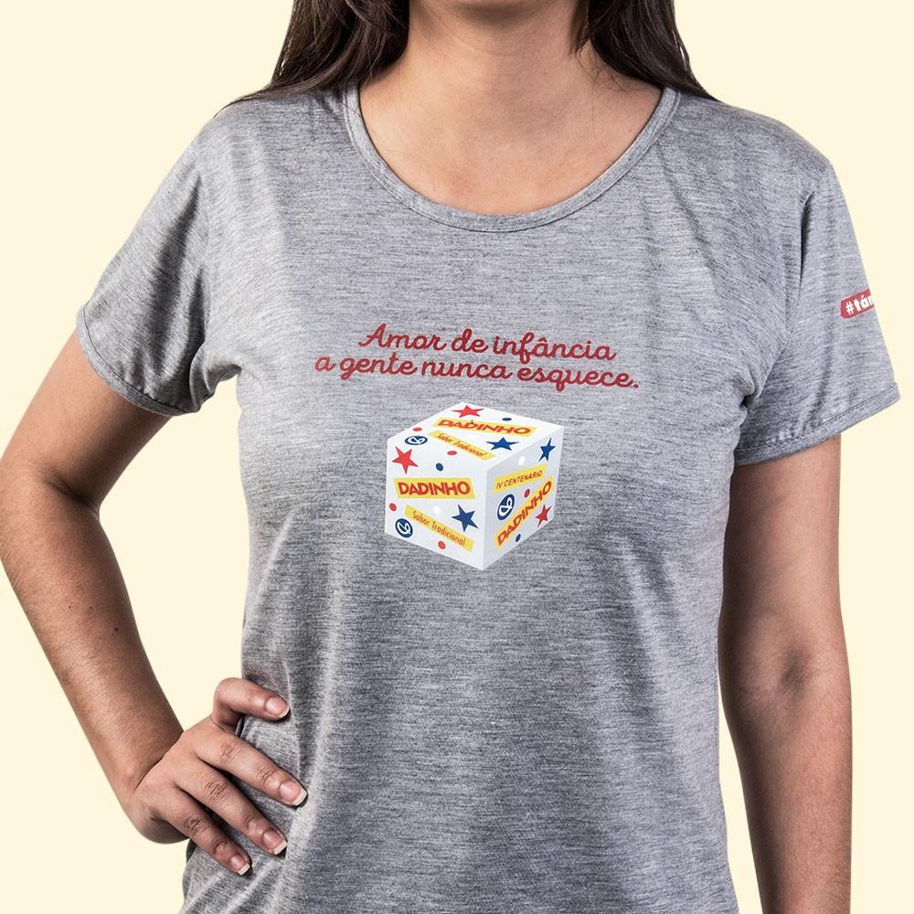 Camiseta Fem-Baby Look G