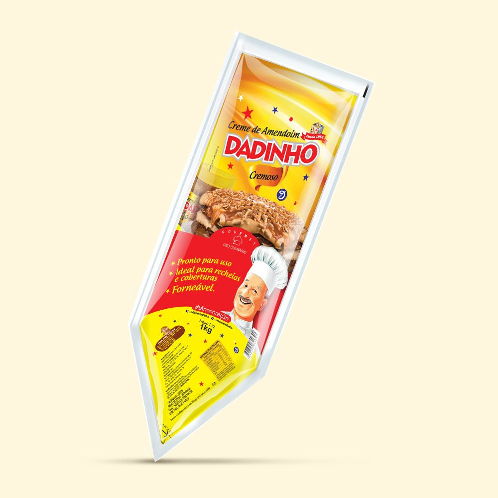 Dadinho Creme Bisnaga - 1kg