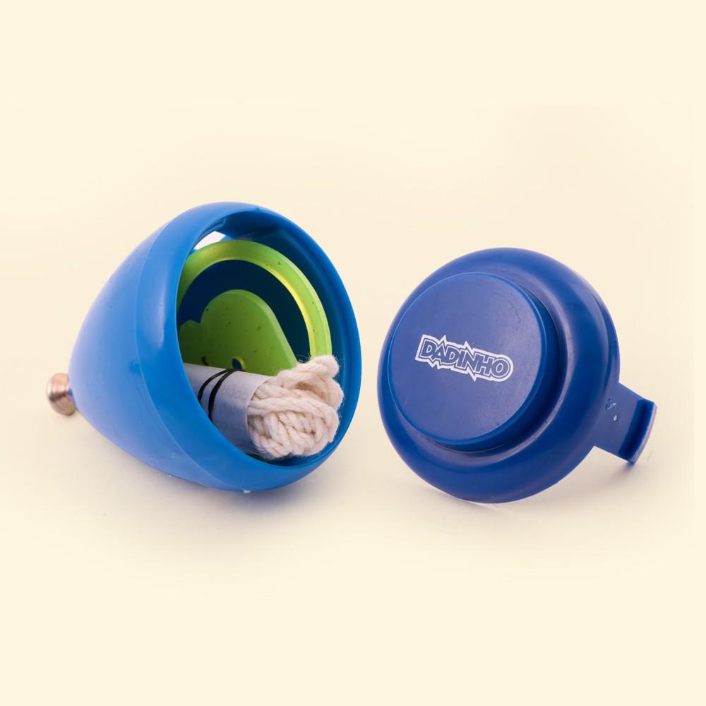 Pião Plástico - Azul
