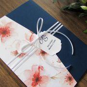 Convite Casamento Carteira Cerejeiras