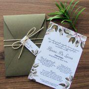 Convite Formatura Oliveiras
