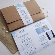 Convite padrinhos envelope G