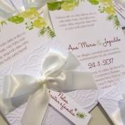 Mini convite casamento Bamboo