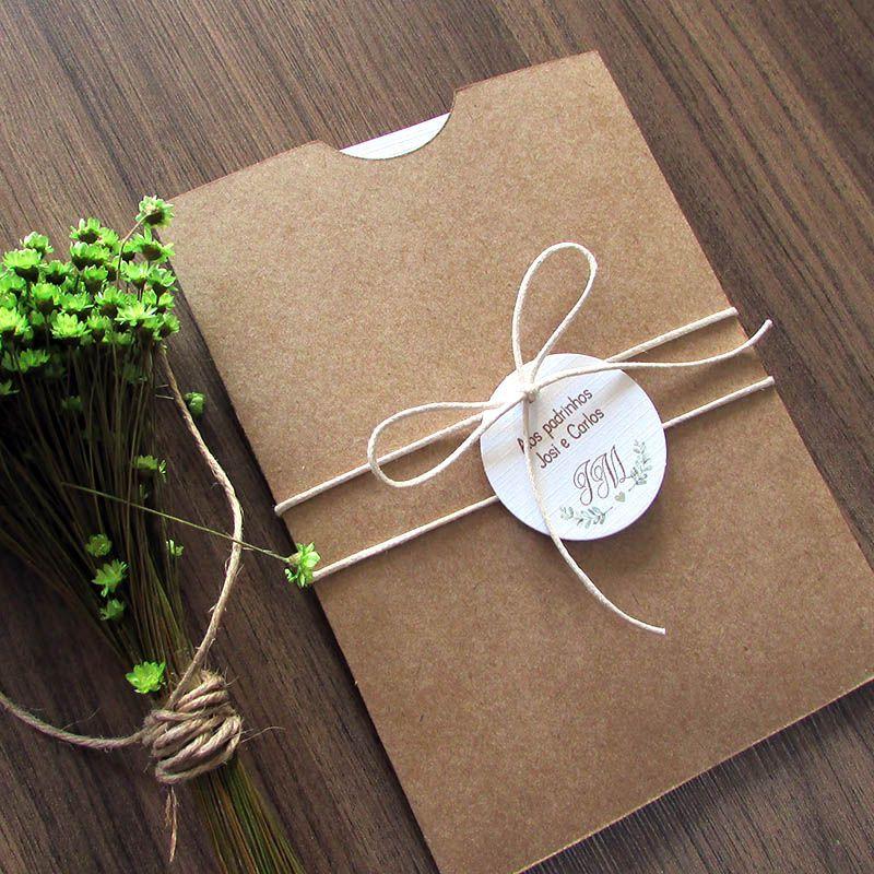 Convite Casamento Herbal