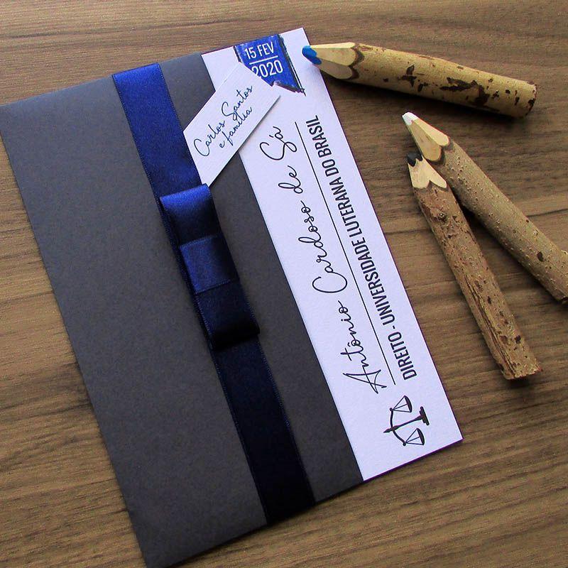 Convite Formatura Royal