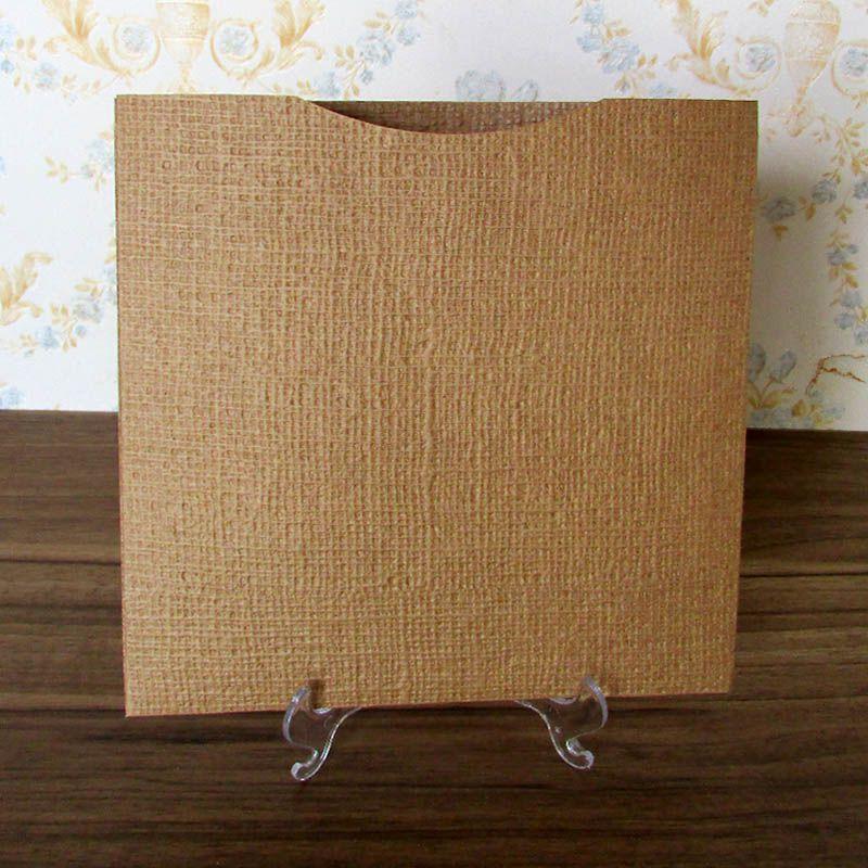 Envelope quadrado 19,5 x 19,5 cm