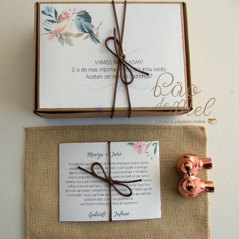 KIT MINI WEDDING FELICIDADE