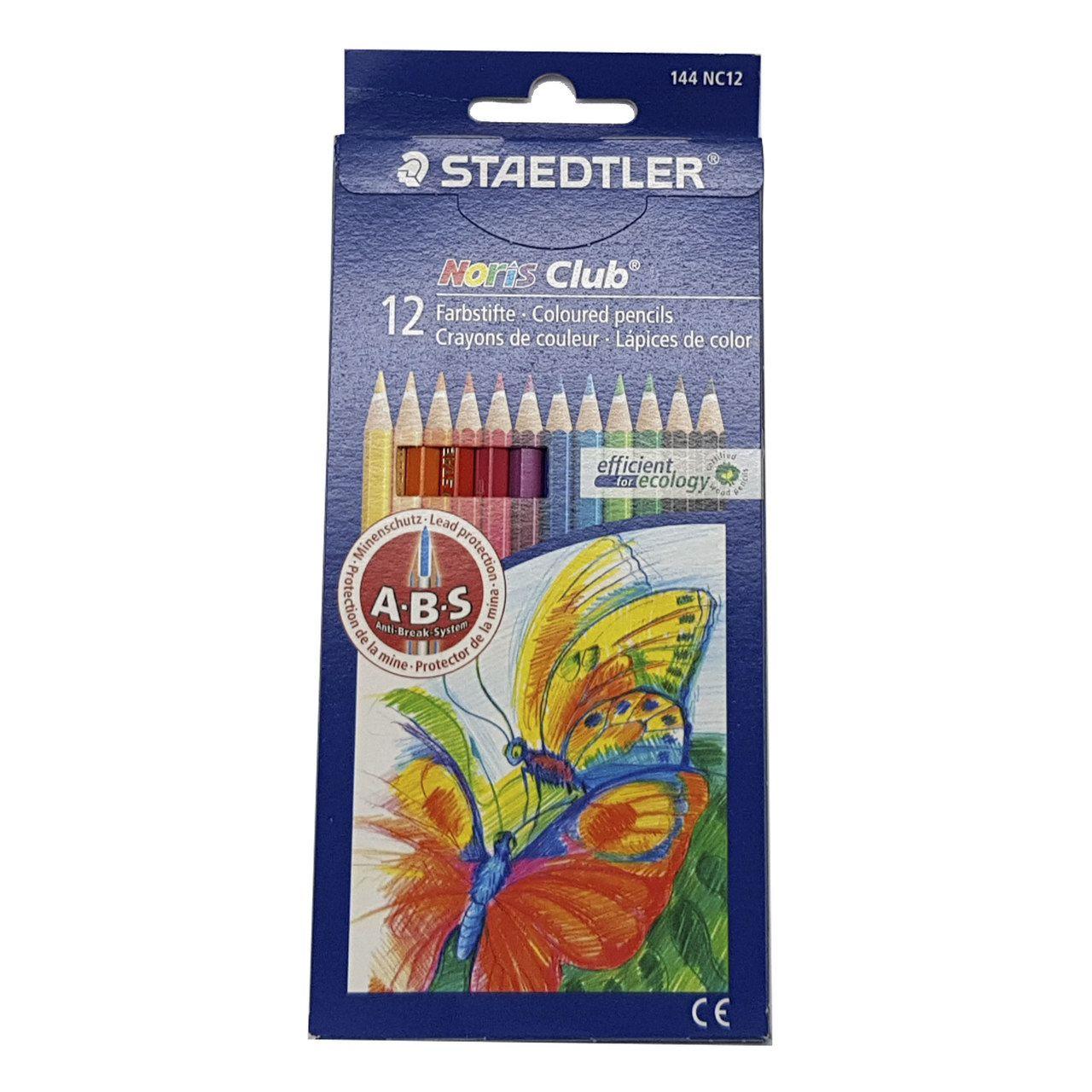 8832b65d74 Lápis de cor Noris Club 144 - Caixa c  12 cores - Staedtler