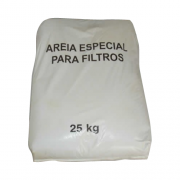 Areia Para Filtro de Piscina 25kg