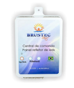 Central de Comando LED RGB 10A - Brustec