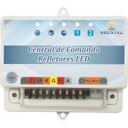 Central de Comando RGB Luxo Rítmica SMD Brustec 10A