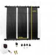Kit Aquecedor Solar Piscina até 22m²  e ou até 29 mil litros TekSol, Controlador Temperatura Bivolt e capa 22m²