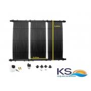 Kit Aquecedor Solar Piscina até 36M² e/ou até 50 mil litros TekSol Controlador Bivolt