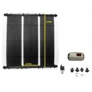 Kit Aquecedor Solar Piscina até 12m² e/ou até 16 mil litros TekSol Controlador Bivolt