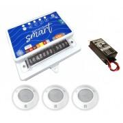 Kit de Iluminação para  Piscinas de  10m² a 30m² - Central de Comando Wi-Fi
