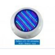 Refletor LED 130 pontos RGB ABS Brustec